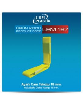 Ayarlı Cam Takozu 18mm