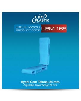 Ayarlı Cam Takozu 24mm