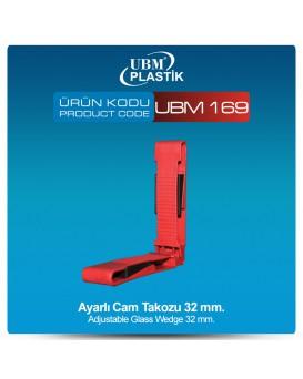 Ayarlı Cam Takozu 32mm