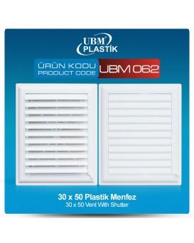 Plastik Menfez(30x50)